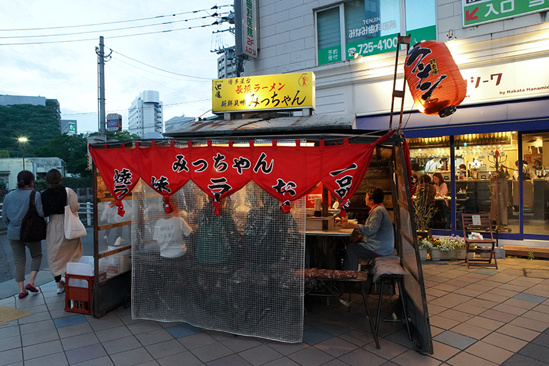 Go local at the Yatai Street Stalls of Fukuoka