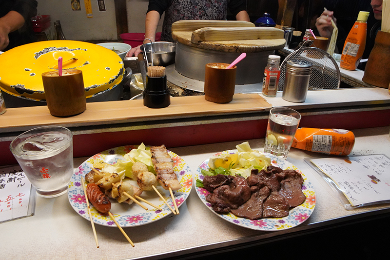 Squeezy setting at the Yatai