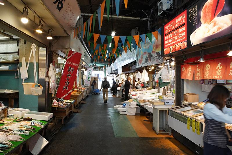 Grill Fresh Wagyu at Yanagibashi Rengo Market | 柳橋連合市場