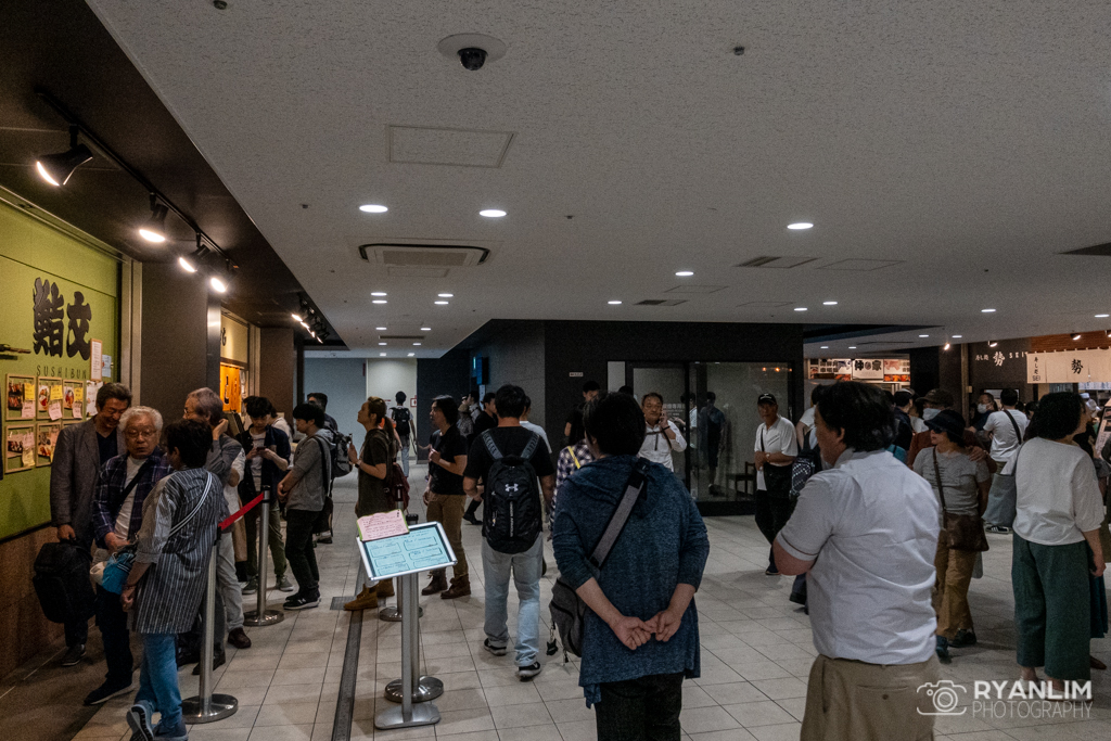 Toyosu Market Restaurant Area
